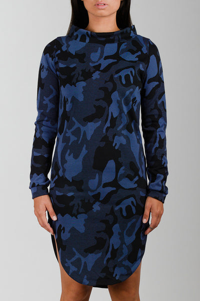 Siku Blue Inuit Collar Dress