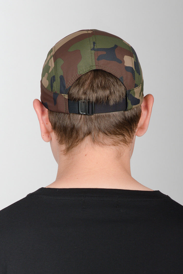 Camo Speed 5-Panel Nylon Cap