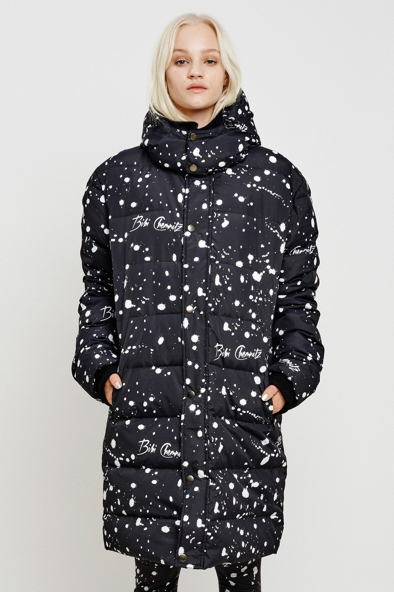Long Spray Down Jacket