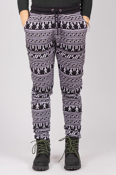 Inuit Tattoo Pants (Black/White)