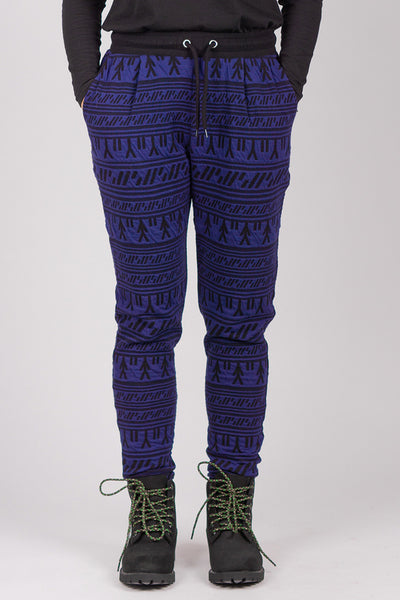 Inuit Tattoo Pants (Blue/Black)
