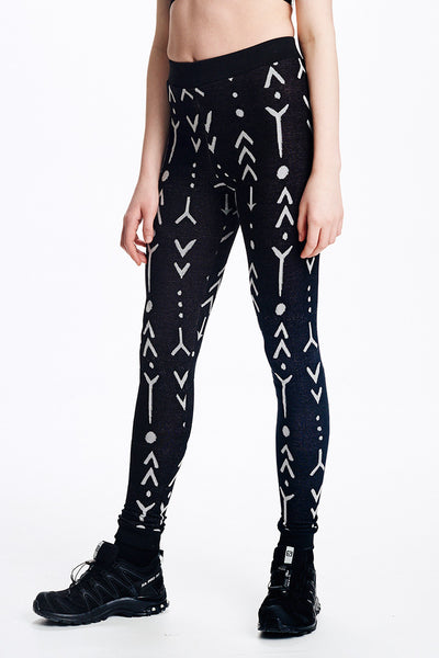 Tattoo Jacquard Leggings