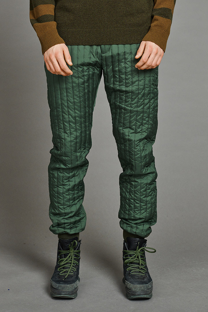 Army Green Thermo Pants (unisex) by BIBI CHEMNITZ