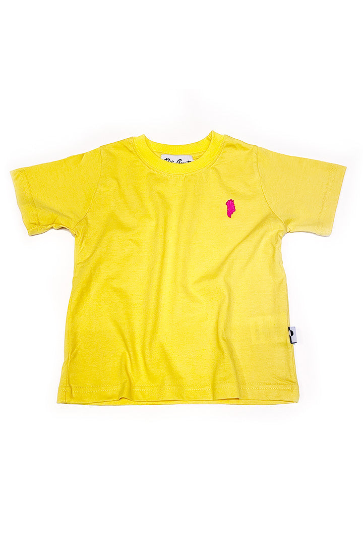 Kids Greenland T-shirt (yellow)