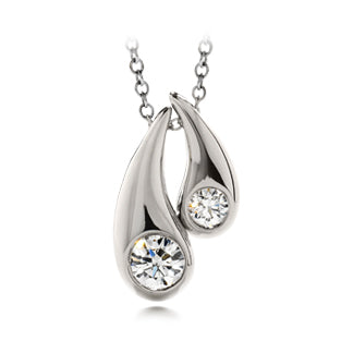 Hearts on fire enduring diamond pendant