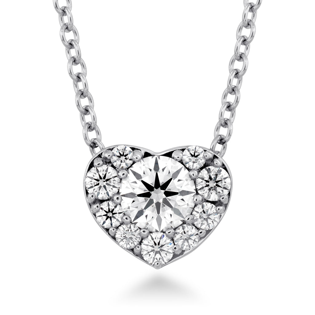 Fulfilment Diamond  Heart Pendant