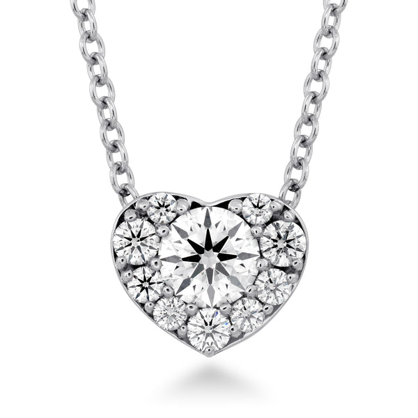 Fulfillment Diamond  Heart Pendant