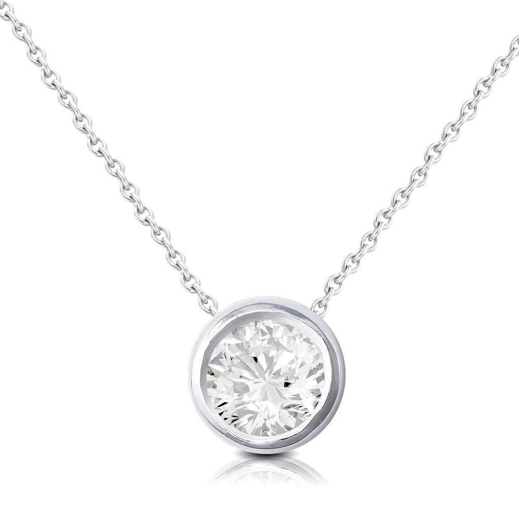 9ct White Gold 0.50ct Diamond Pendant