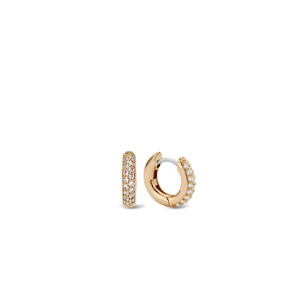 Ti Sento Earrings Gilded