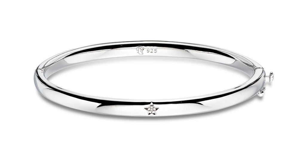 Xandra Diamond Baby Bangle