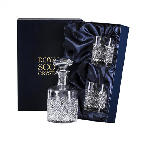 Tartan Decanter Set