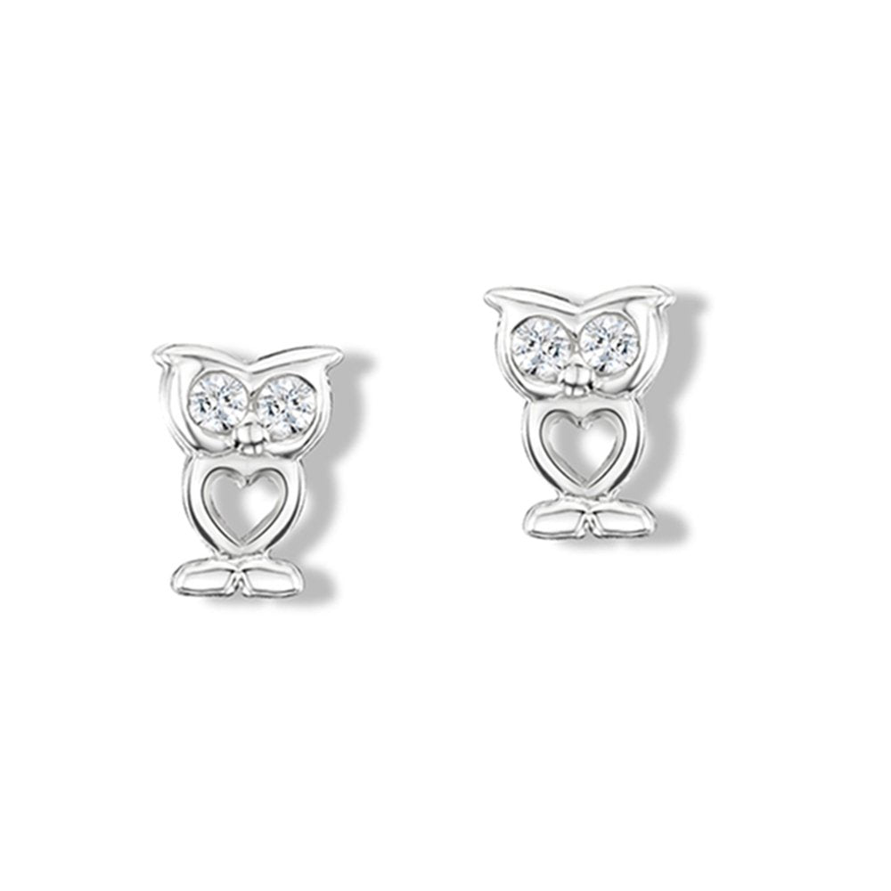 Sparkly Owl Earrings