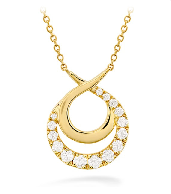 Optima Circle Necklace