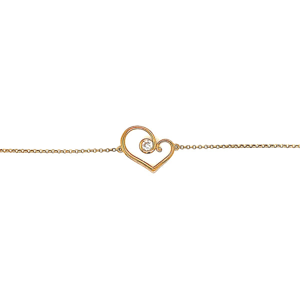 9ct Yellow Gold Forever Bracelet