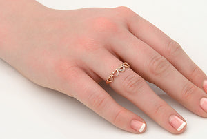Affinity Heart Ring