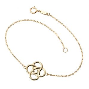 9ct Yellow Gold Celtic Motif Bracelet