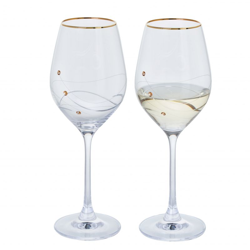 Glitz Gold Wine Pair