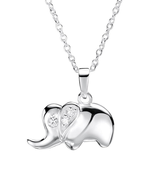 CZ Elephant Necklace