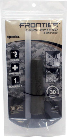 Aquamira Frontier Emergency Water Filter and WCU bag