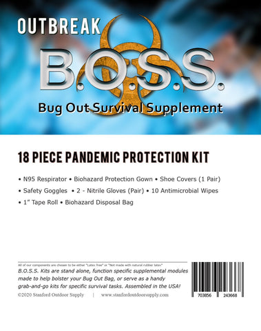 *** Outbreak B.O.S.S.- Pandemic Protection Kit