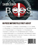 Saddlebag B.O.S.S.- Motorcycle First Aid Kit