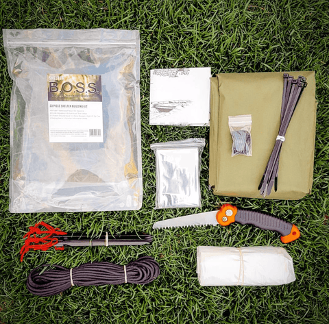 Shelter B.O.S.S.- Bug Out Survival Supplement Kit