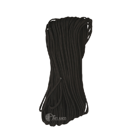 550 Paracord, Commercial, Black