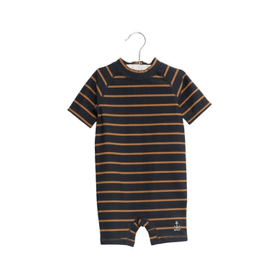 Wheat Badedragt Cas Swimwear 1397 midnight blue stripe