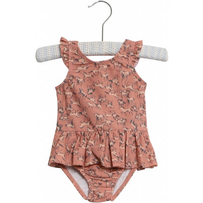Wheat Badedragt Diddi Swimwear 2271 misty rose horses