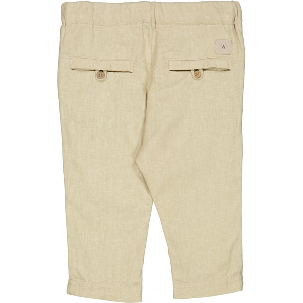 Wheat Bukser George Trousers 3289 linen