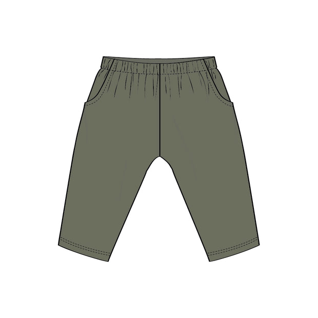 Wheat Bukser George Trousers 4122 sage