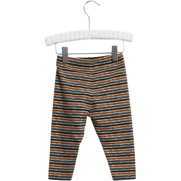 Wheat Jersey Bukser Silas Leggings 1397 midnight blue stripe