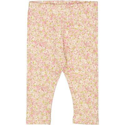 Wheat Jersey Leggings Leggings 9049 bees and flowers