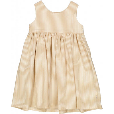Wheat Pinafore Rynk Dresses 5088 taffy stripe