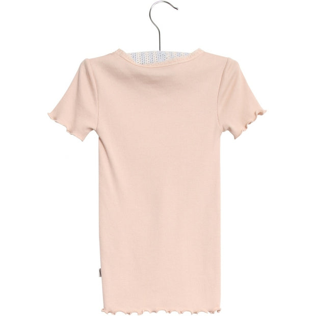 Wheat Rib T-shirt Jersey Tops and T-Shirts 2400 powder