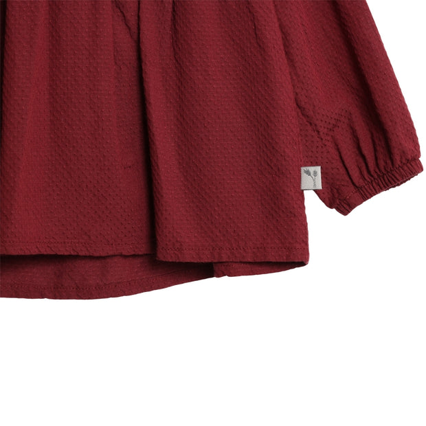 Wheat Skjorte Elsa Shirts and Blouses 2105 burgundy