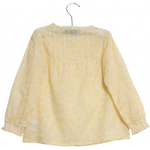 Wheat Skjorte Hanne Shirts and Blouses 5302 lemon flowers