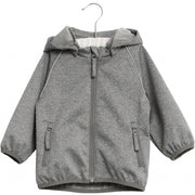 Wheat Outerwear Softshell Jakke Carlo Softshell 0224 melange grey
