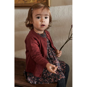 Wheat Strik Cardigan Maja Knitted Tops 2105 burgundy