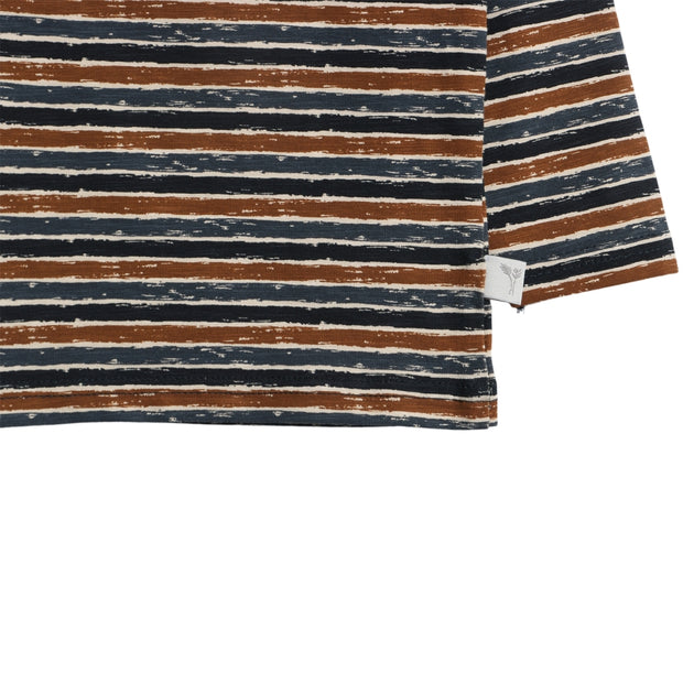 Wheat T-Shirt Striber Jersey Tops and T-Shirts 1397 midnight blue stripe