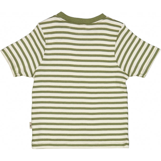Wheat T-shirt Frode Jersey Tops and T-Shirts 4122 sage