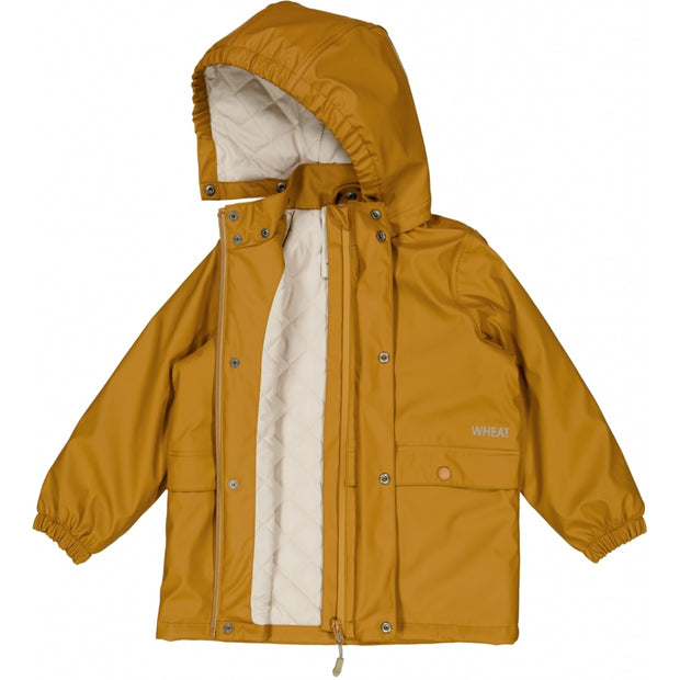Wheat Outerwear Termo Regnjakke Ajo Rainwear 4341 almond