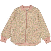 Wheat Outerwear Termojakke Loui Thermo 3130 eggshell flowers
