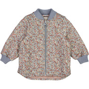 Wheat Outerwear Termojakke Loui Thermo 9052 dusty dove flowers
