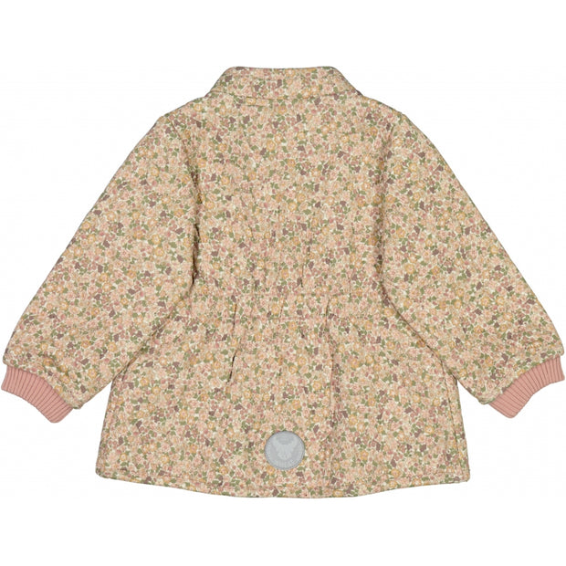 Wheat Outerwear Termojakke Thilde Thermo 3130 eggshell flowers