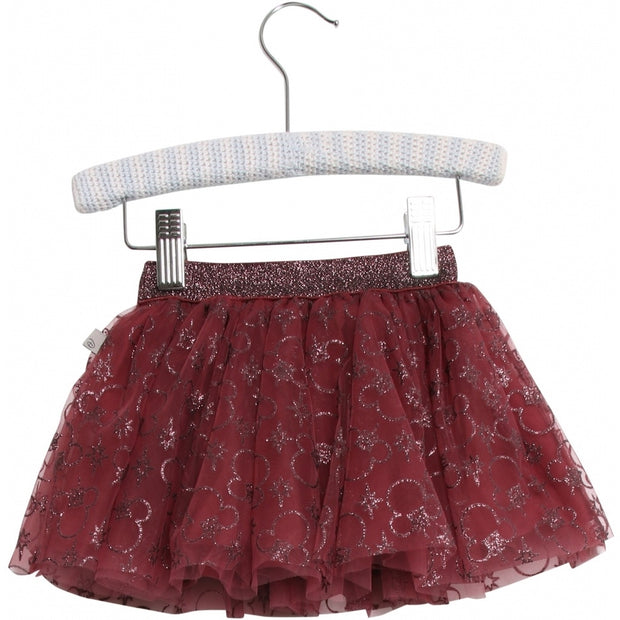 Disney/Marvel Tylnederdel Mickey Mouse Jul Skirts 2107 Mickey burgundy