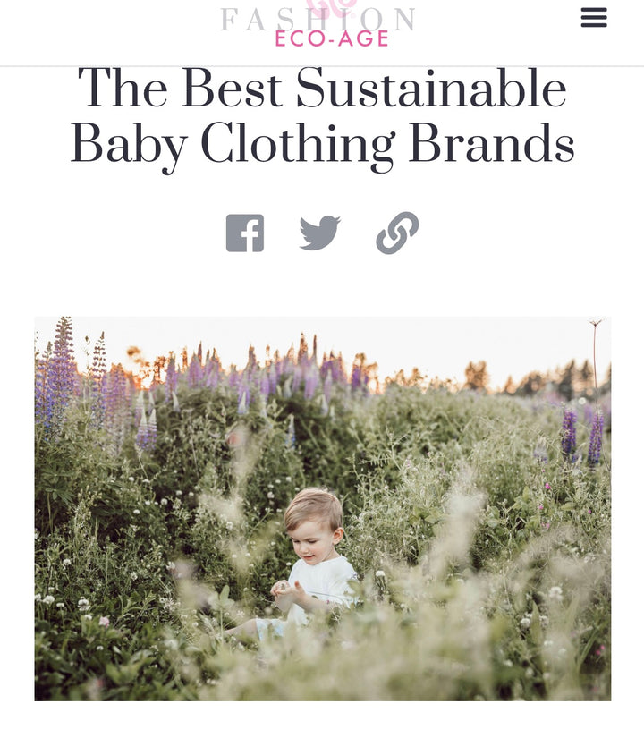 Eco-age puts Smalls amongst best sustainable brands for the new Royal Baby