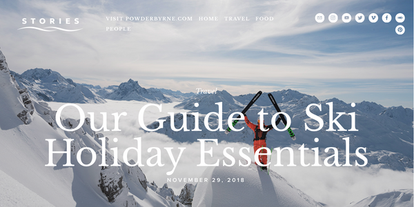 Powder Byrne Winter Essentials Packing Guide