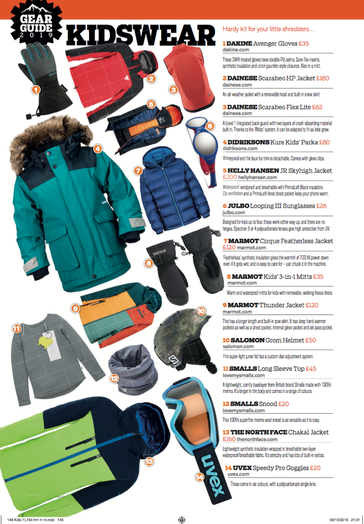 Get slope ready with Fall-Line Magazine 2019 Gear Guide