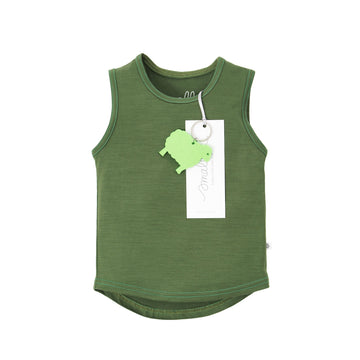 The Best Vest Top in Forest Green